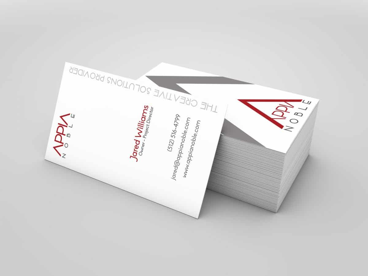 AppiaNoble Business Card Design